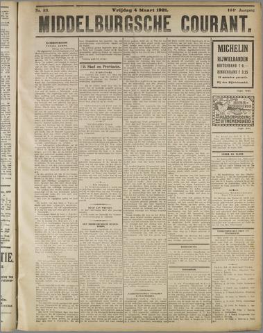 Middelburgsche Courant 1921-03-04