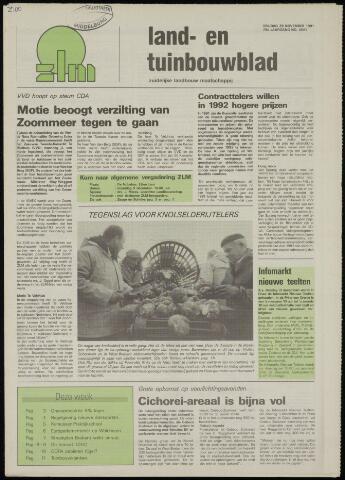 Zeeuwsch landbouwblad ... ZLM land- en tuinbouwblad 1991-11-29