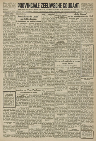 Provinciale Zeeuwse Courant 1946-04-13