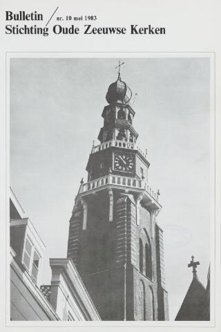 Bulletin Stichting Oude Zeeuwse kerken 1983-05-01
