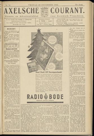 Axelsche Courant 1935-12-20