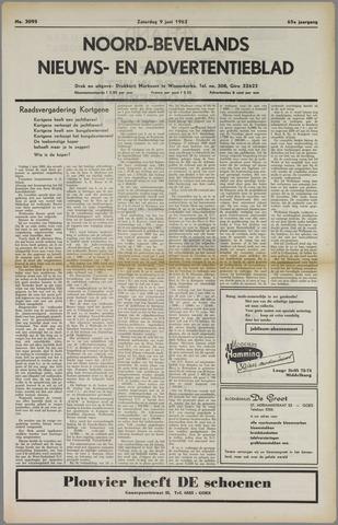 Noord-Bevelands Nieuws- en advertentieblad 1962-06-09