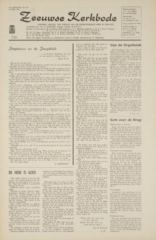 Zeeuwsche kerkbode, weekblad gewijd aan de belangen der gereformeerde kerken/ Zeeuwsch kerkblad 1968-06-13