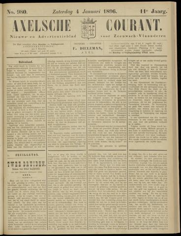 Axelsche Courant 1896-01-04