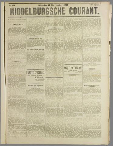 Middelburgsche Courant 1925-11-17