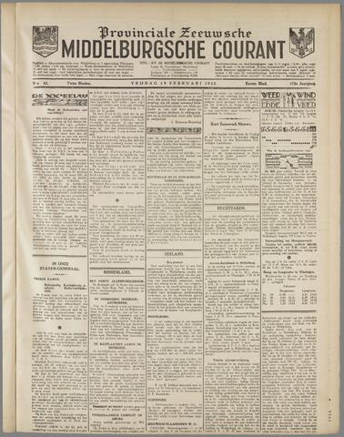Middelburgsche Courant 1932-02-19