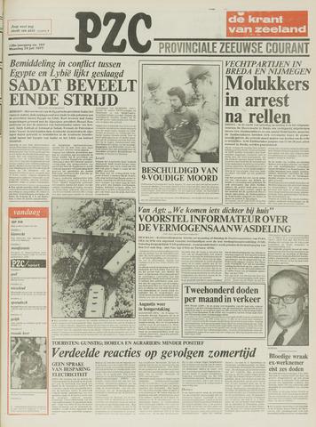 Provinciale Zeeuwse Courant 1977-07-25