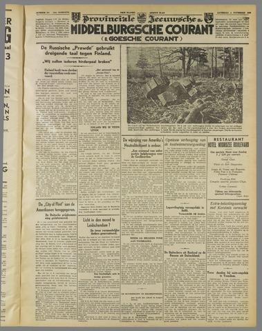 Middelburgsche Courant 1939-11-04