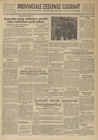 Provinciale Zeeuwse Courant 1951-05-01