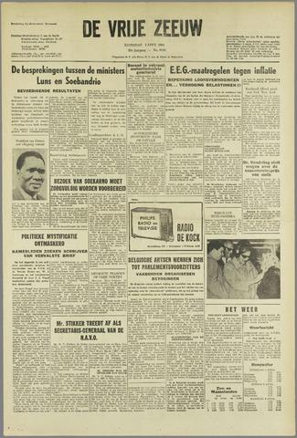 de Vrije Zeeuw 1964-04-04
