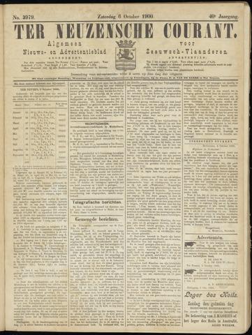 Ter Neuzensche Courant. Algemeen Nieuws- en Advertentieblad voor Zeeuwsch-Vlaanderen / Neuzensche Courant ... (idem) / (Algemeen) nieuws en advertentieblad voor Zeeuwsch-Vlaanderen 1900-10-06