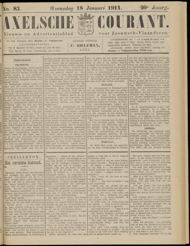 Axelsche Courant 1911-01-18
