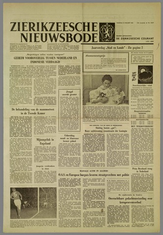 Zierikzeesche Nieuwsbode 1962-03-23
