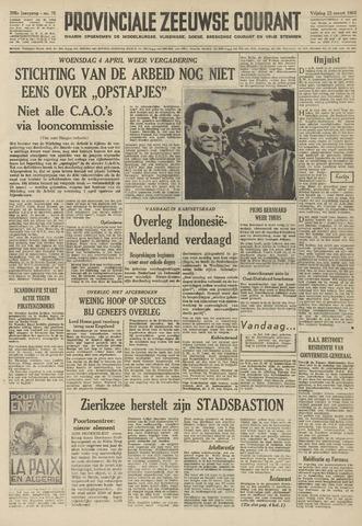 Provinciale Zeeuwse Courant 1962-03-23