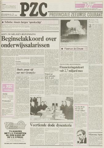 Provinciale Zeeuwse Courant 1984-01-19