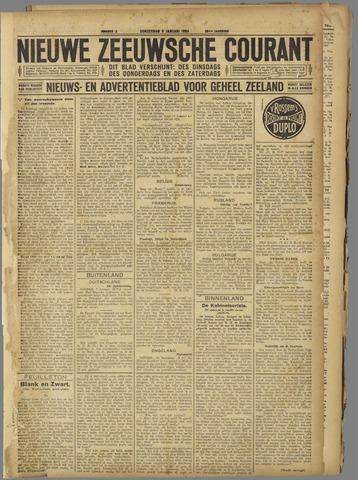Nieuwe Zeeuwsche Courant 1924-01-03