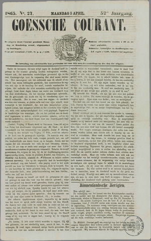 Goessche Courant 1865-04-03