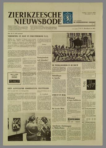 Zierikzeesche Nieuwsbode 1972-01-07