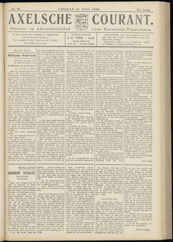 Axelsche Courant 1939-07-21
