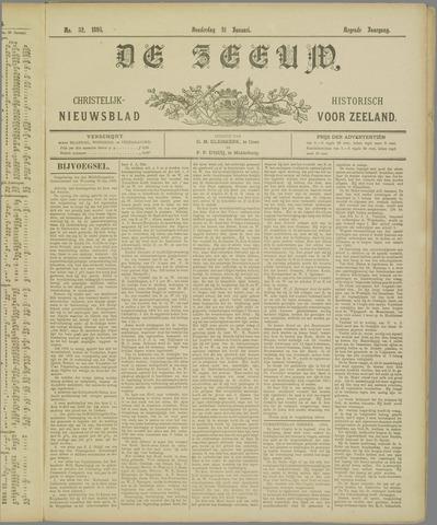 De Zeeuw. Christelijk-historisch nieuwsblad voor Zeeland 1895-01-31