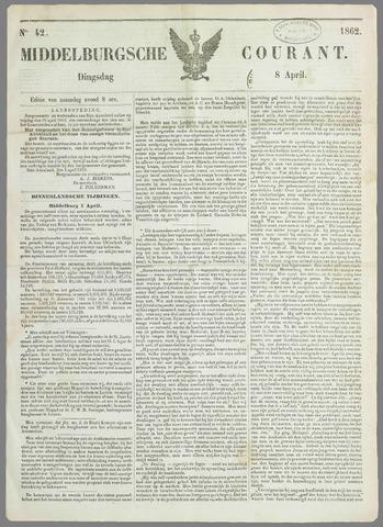 Middelburgsche Courant 1862-04-08