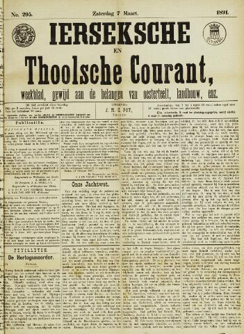 Ierseksche en Thoolsche Courant 1891-03-07