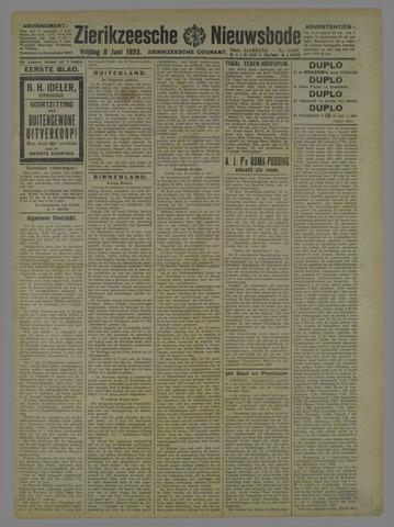 Zierikzeesche Nieuwsbode 1923-06-08