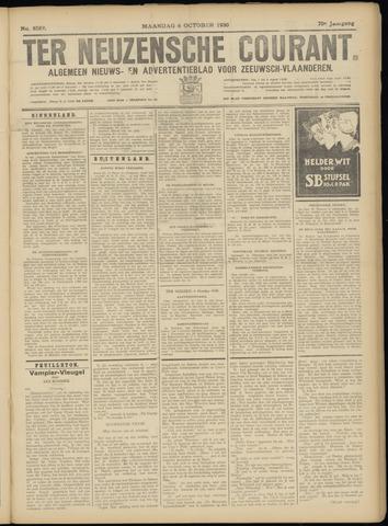 Ter Neuzensche Courant. Algemeen Nieuws- en Advertentieblad voor Zeeuwsch-Vlaanderen / Neuzensche Courant ... (idem) / (Algemeen) nieuws en advertentieblad voor Zeeuwsch-Vlaanderen 1930-10-06