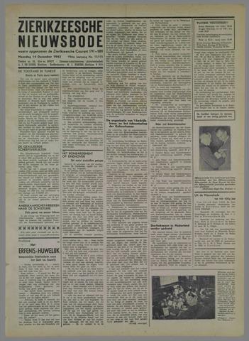 Zierikzeesche Nieuwsbode 1942-12-14