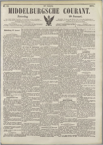 Middelburgsche Courant 1899-01-28