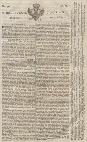 Middelburgsche Courant 1758-10-26