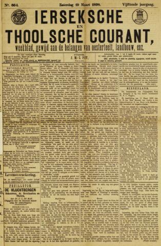 Ierseksche en Thoolsche Courant 1898-03-19