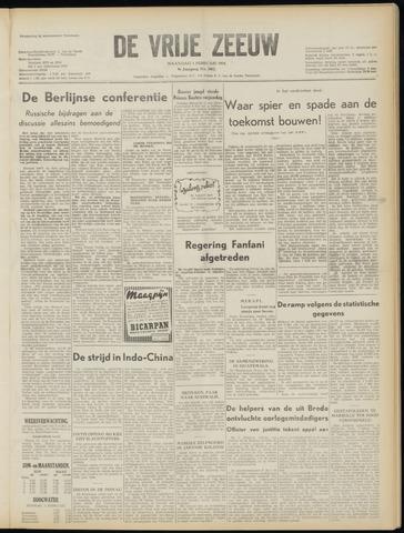 de Vrije Zeeuw 1954-02-01