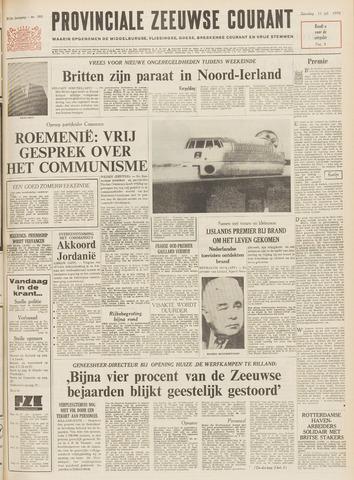 Provinciale Zeeuwse Courant 1970-07-11