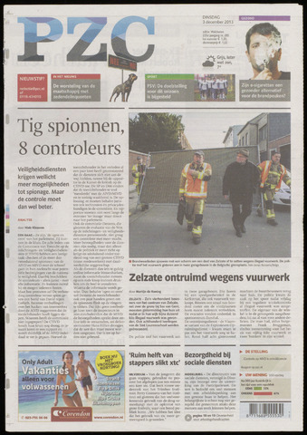 Provinciale Zeeuwse Courant 2013-12-03
