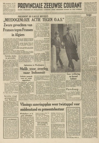 Provinciale Zeeuwse Courant 1962-03-24