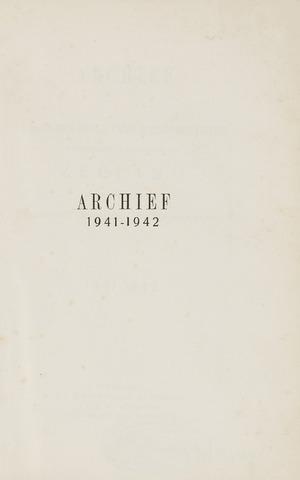 Archief 1941-01-01