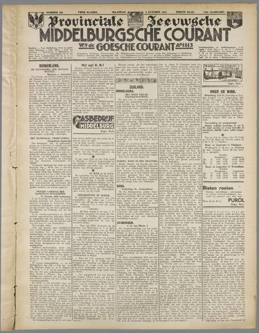 Middelburgsche Courant 1933-10-09