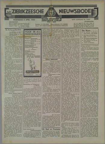 Zierikzeesche Nieuwsbode 1936-04-08