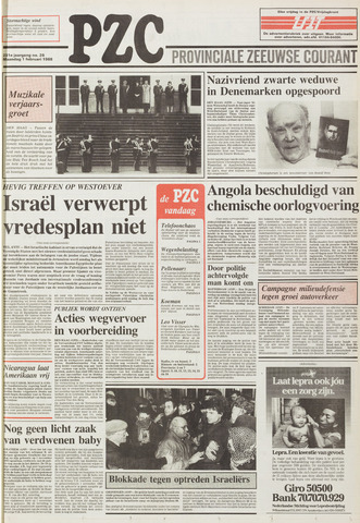 Provinciale Zeeuwse Courant 1988-02-01