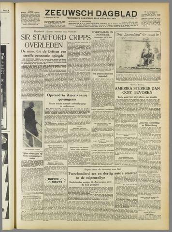 Zeeuwsch Dagblad 1952-04-22