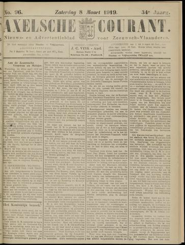 Axelsche Courant 1919-03-08