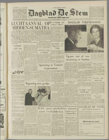 de Stem 1958-02-22