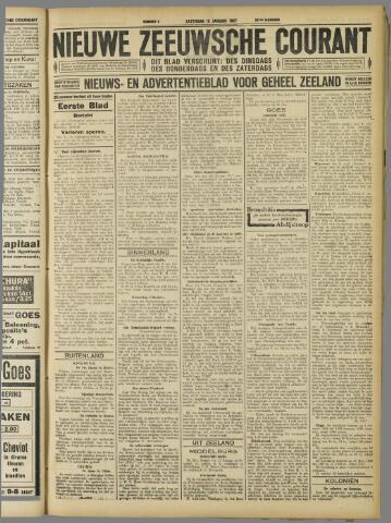 Nieuwe Zeeuwsche Courant 1927-01-15