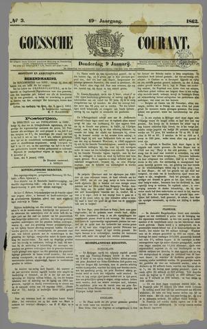Goessche Courant 1862-01-09