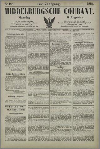Middelburgsche Courant 1884-08-11
