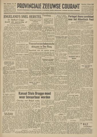 Provinciale Zeeuwse Courant 1949-03-16