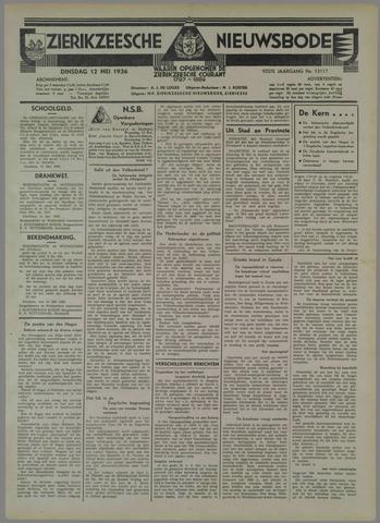 Zierikzeesche Nieuwsbode 1936-05-12