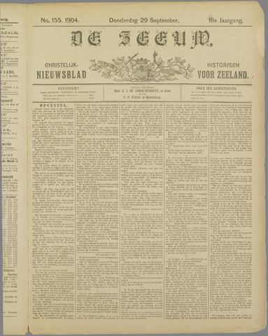 De Zeeuw. Christelijk-historisch nieuwsblad voor Zeeland 1904-09-29