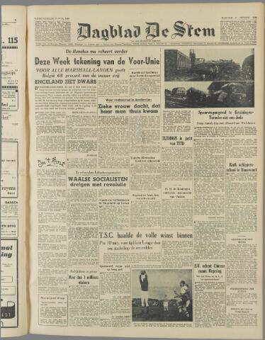 de Stem 1949-10-03